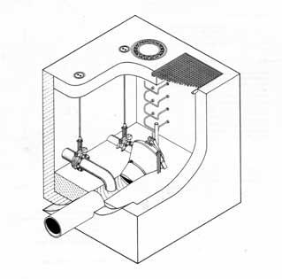 Obrázek - Vírový ventil v suché šachtě FluidCon