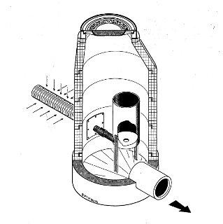 Obrázek - Drenážní vírový regulátor FluidVortex-R
