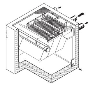 Obrázek - Usazovací jednotka s voštinami FluidClear